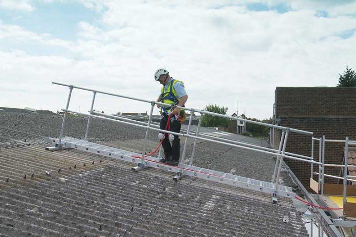 Board-Walk temporary fragile roof walkway