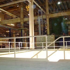 Kee Klamp handrails for factories and industrial buildings