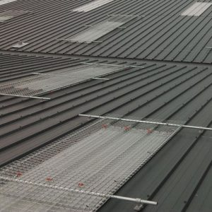 Kee Cover skylight and roof light protection for metal profile roofs