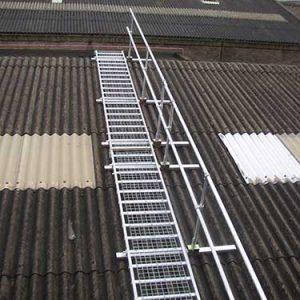 Board-Walk provides a safe working platform for fragile roof work