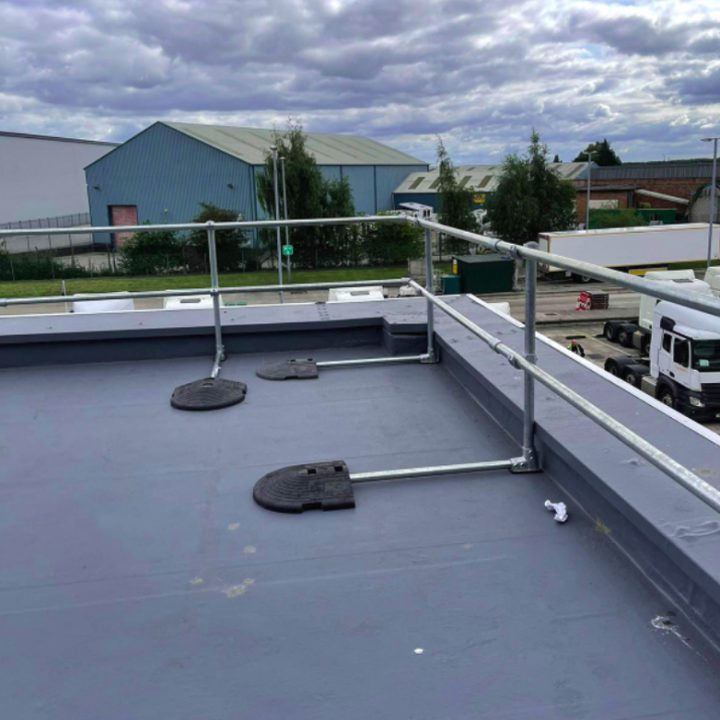Full Rooftop Safe Access System by Harcon Fall Protection & Safe Access Services Manchester