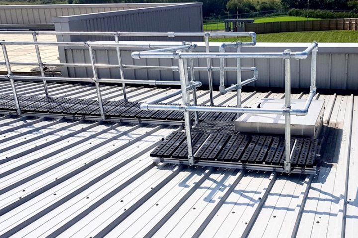 Kee Walk Rooftop Walkway Safety System
